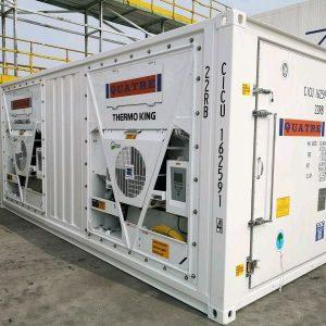 Kiểm tra cấu trúc bên ngoài của container lạnh và container kho khi mua bán container lạnh, container kho