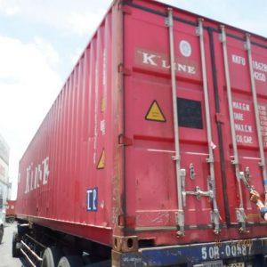 container loại 40'DC - sản phẩm của Container Phía Bắc