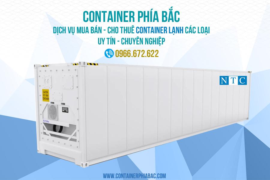Container lạnh 20 feet chất lượng, giá tốt