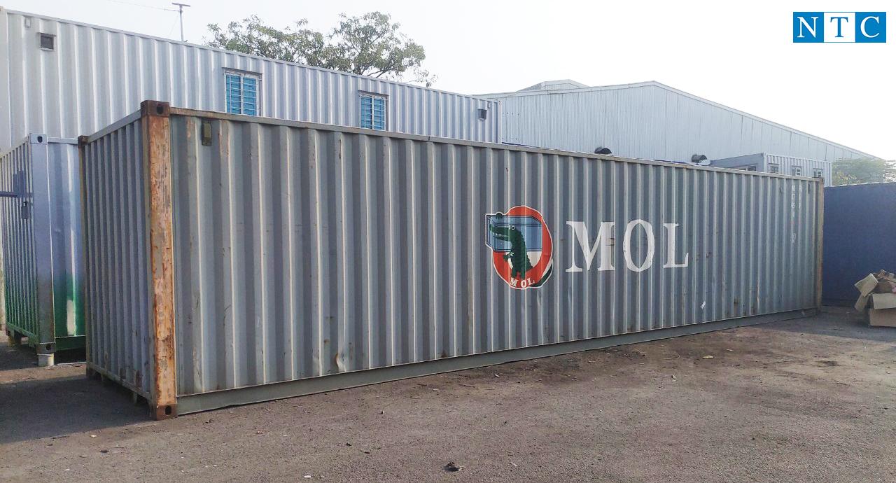 Container khô 40 DC cho thuê tại Quảng Ninh