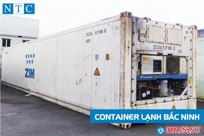 NTC Container mua bán cho thuê container lạnh giá tốt nhất Bắc Ninh. Hotline: 0899.255.517