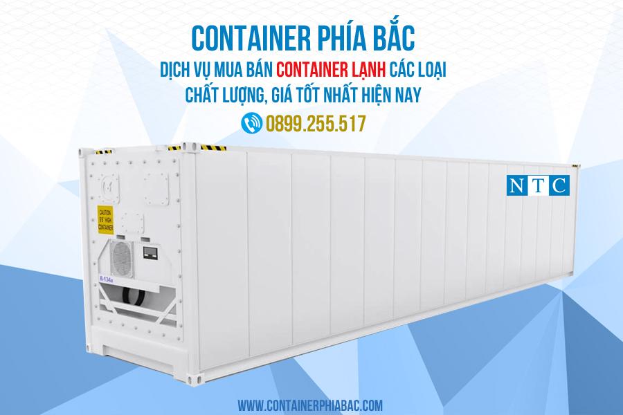 Container Phía Bắc cho thuê container lạnh chất lượng, uy tín. Hotline: 0899.255.517