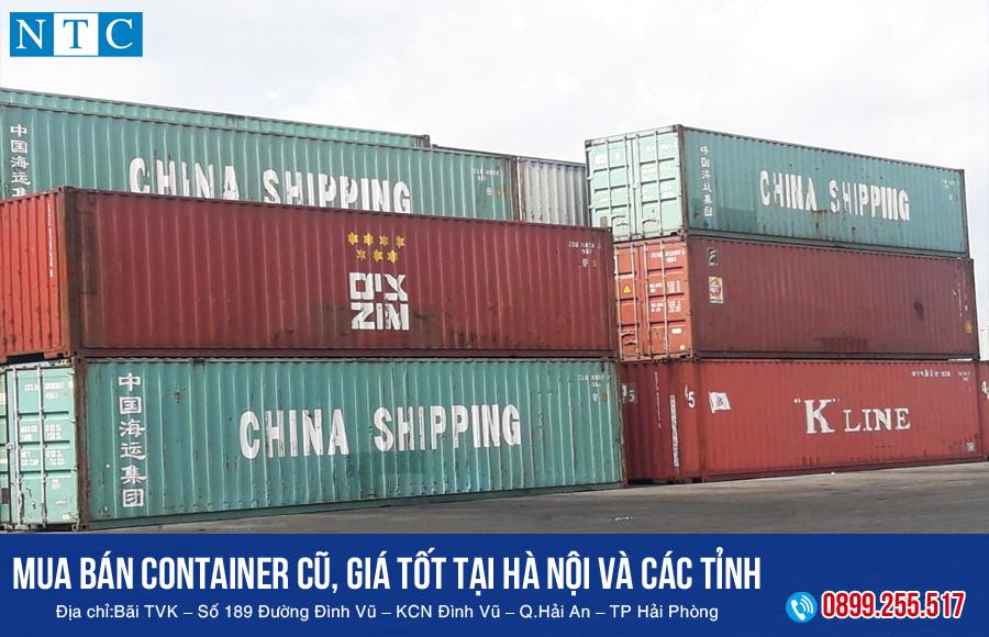 NTC Container chuyên mua bán container cũ, giá tốt tại Hà Nội và các tỉnh thành khắp miền Bắc. Hotline: 0899.255.517