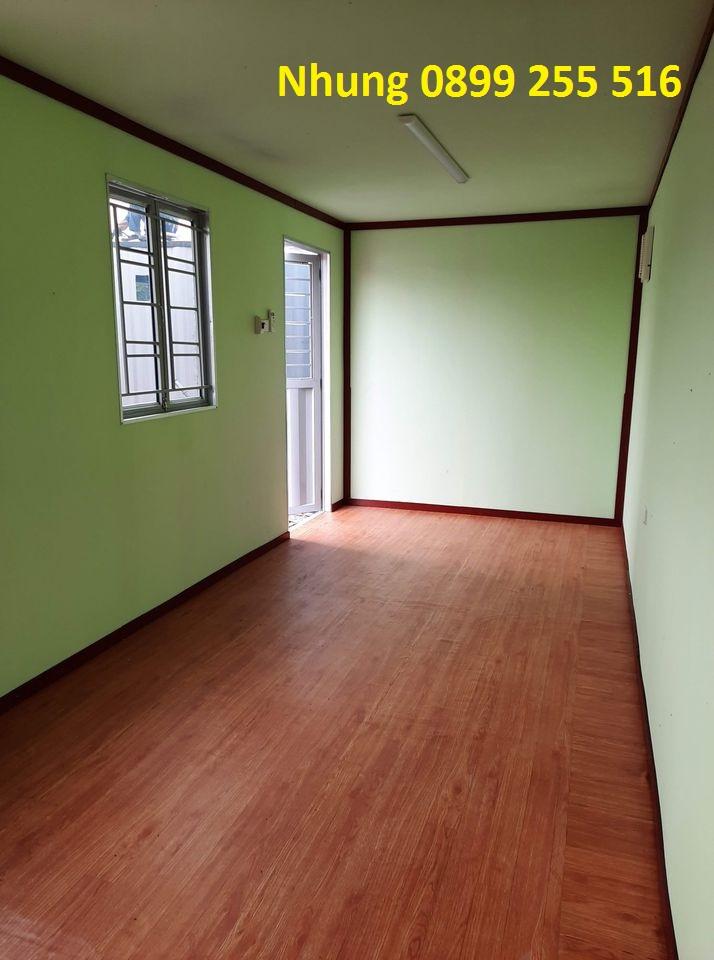 Cho thuê container văn phòng 0899255516